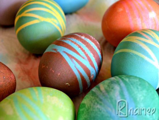 Надраскани яйца
