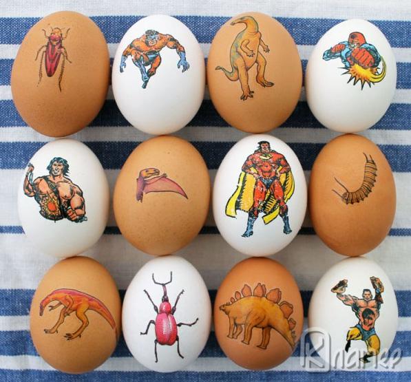 Татуирани яйца